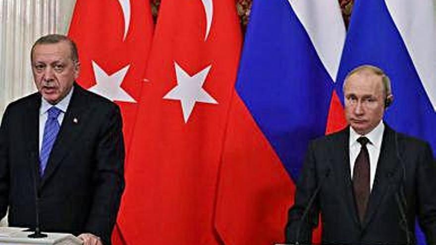 Rússia i Turquia acorden un alto             el foc a la província siriana d'Idlib