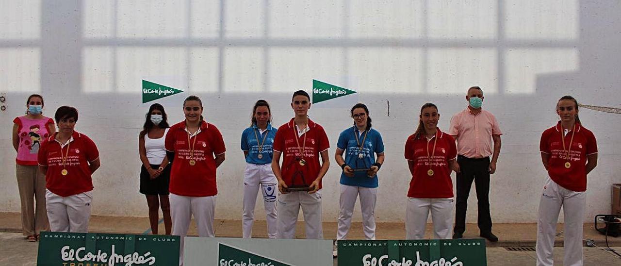Borbotó se impuso a Faura en la final femenina en primera.