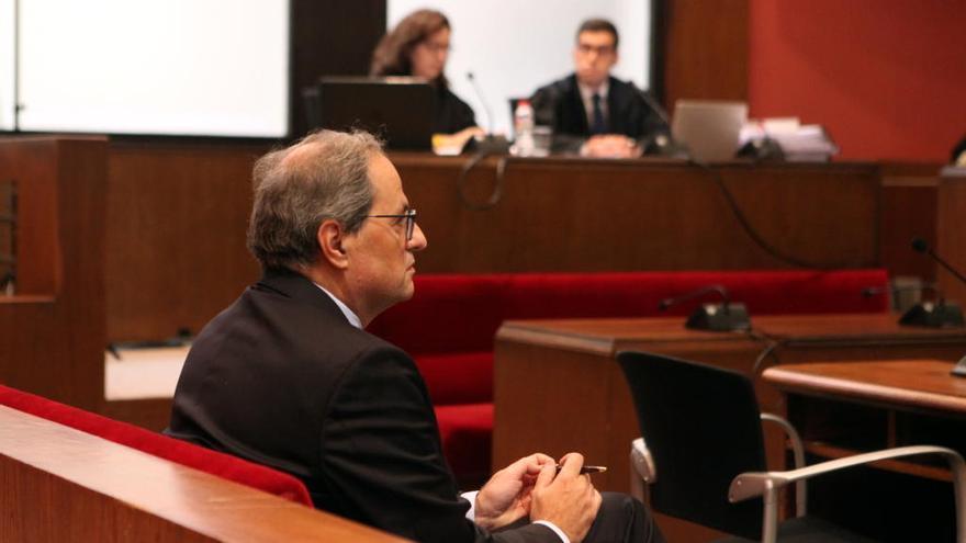 La defensa de Torra demana suspendre el judici perquè declarin testimonis de la JEC