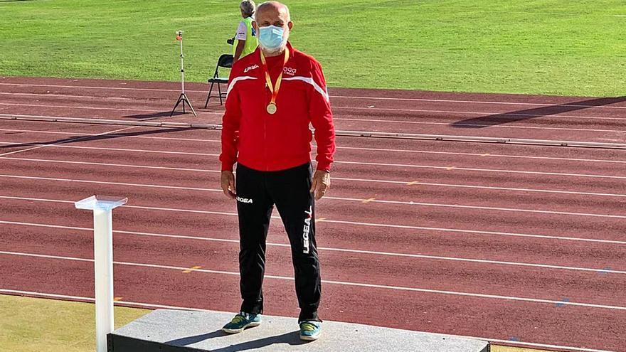 El solleric Toni Piña se lleva tres oros en el Nacional de Veteranos