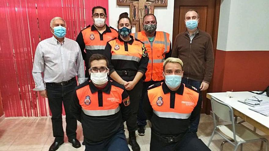 Cáritas y Protección Civil de Oliva
