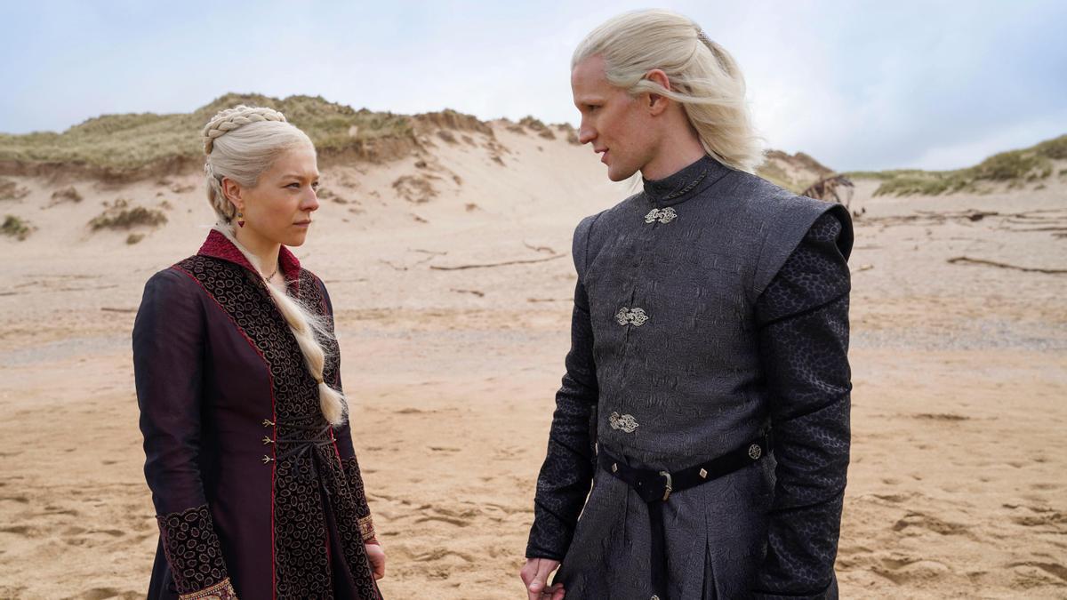HBO desvela las primeras imágenes de la precuela de 'Juego de Tronos'.