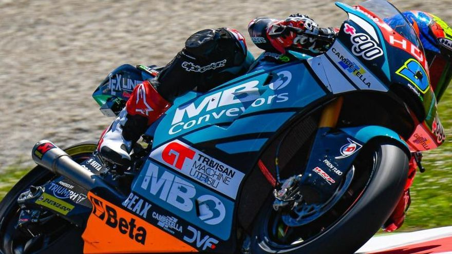 Jorge Navarro, a por su primer triunfo en Moto2