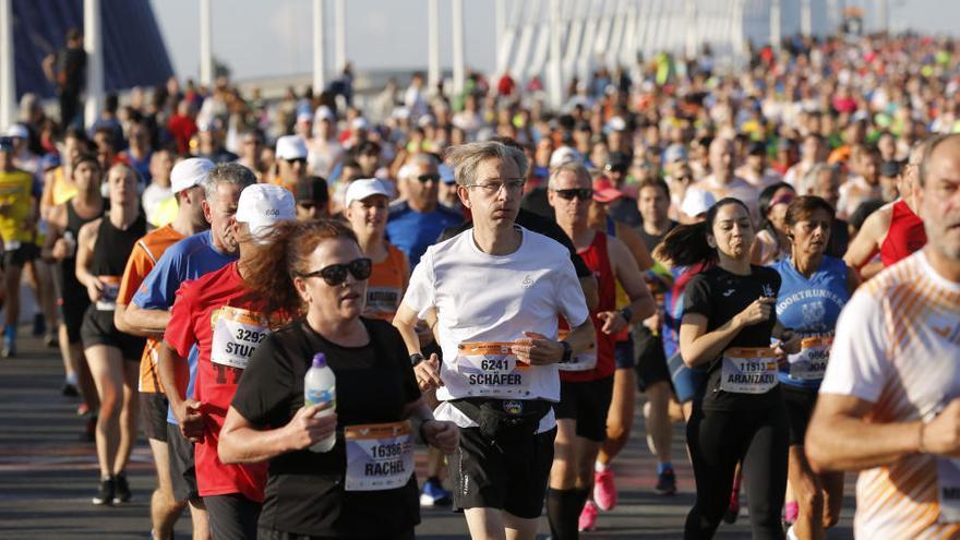 Suspendido el Medio Maratón de Valencia