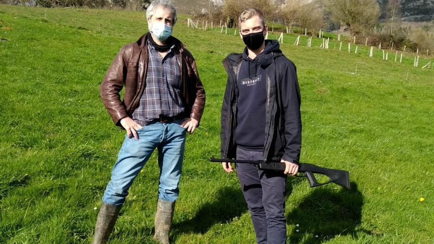 Croezen, el holandés que cataloga comunales en Llanes