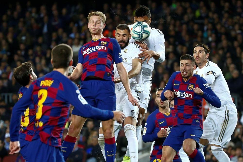 LaLiga Santander: FC Barcelona - Real Madrid.