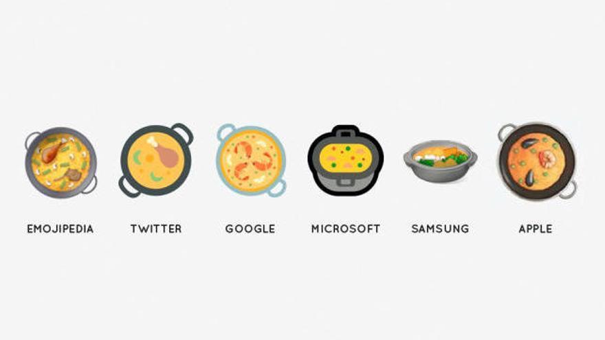 Ya puedes usar el Paella Emoji si actualizas tu sistema operativo