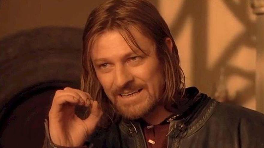 Así nació el meme de Boromir en 'El Señor de los Anillos'