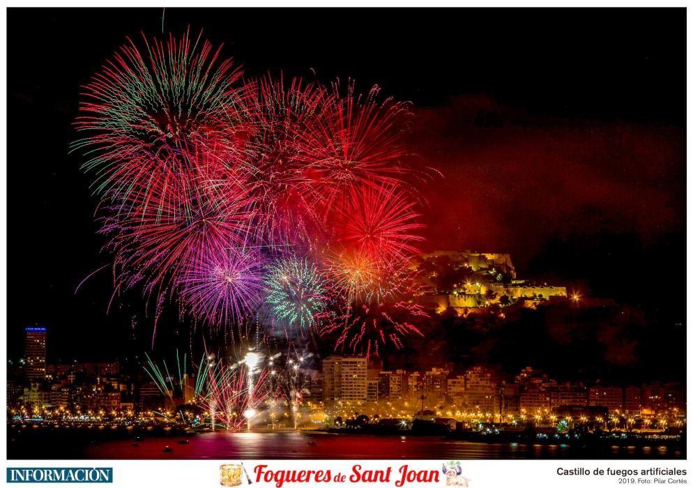 Las 10 láminas de Les Fogueres gratis con INFORMACIÓN.