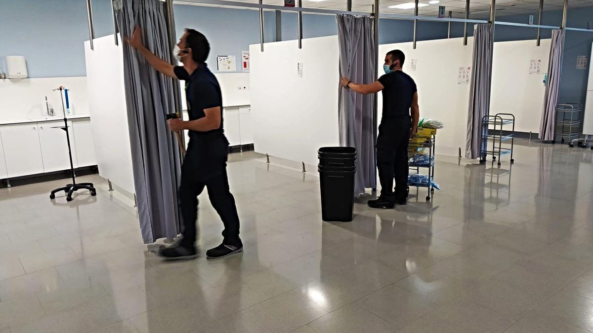 L'Hospital de Figueres habilita un nou espai de preingrés amb deu llits