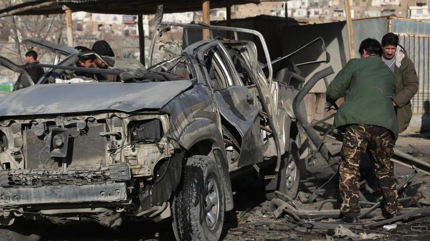 Al menos un muerto y dos heridos en una explosión en Kabul