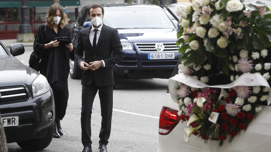 Emocionante adiós en Oviedo a Marta García, la madre de Juan Mata