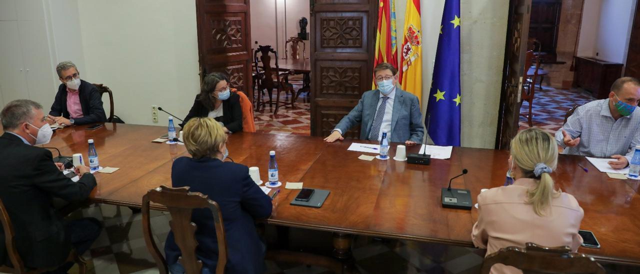 Reunión de la interdepartamental realizada esta mañana, en la que se han ratificado las nuevas medidas.