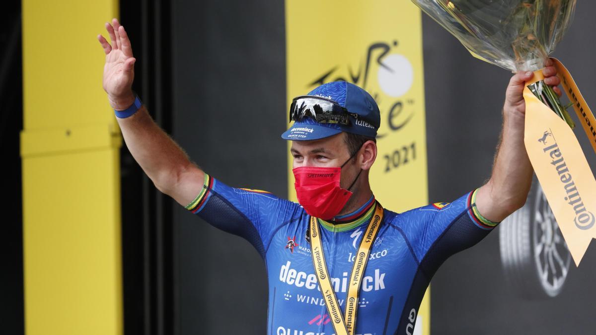 El corredor británico Mark Cavendish.