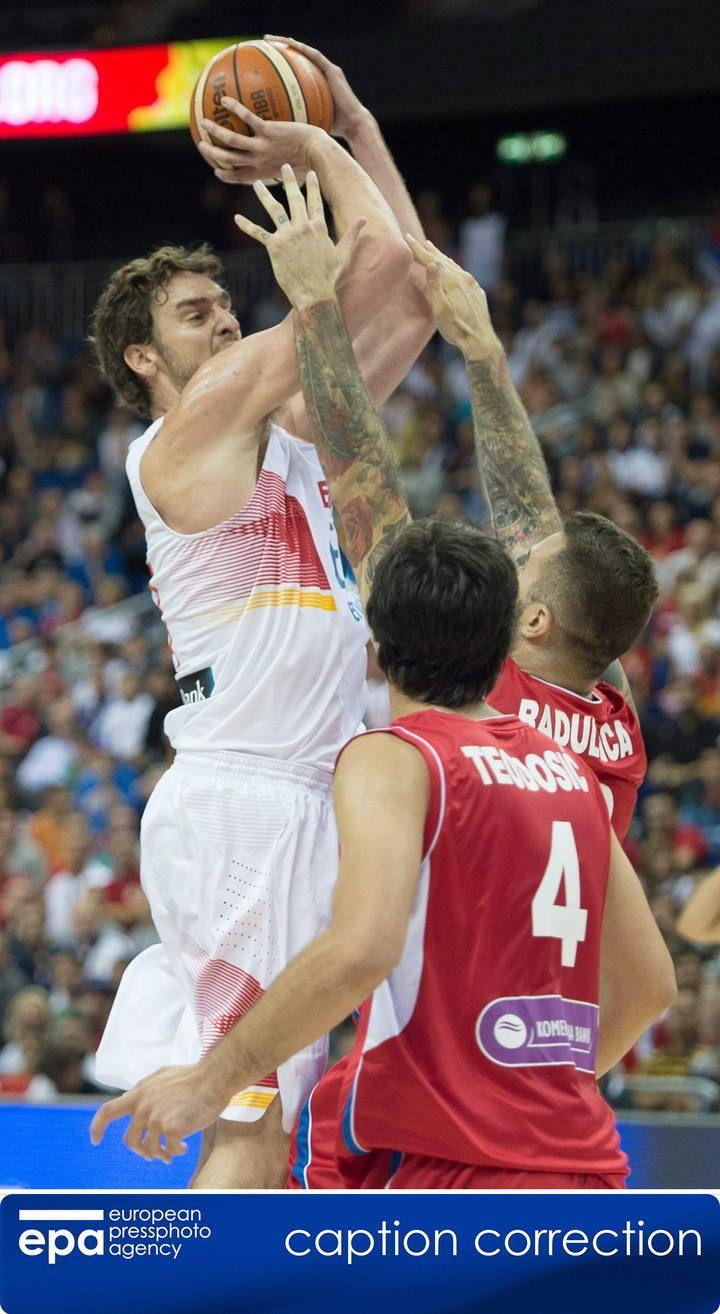 Eurobasket 2015: España - Serbia