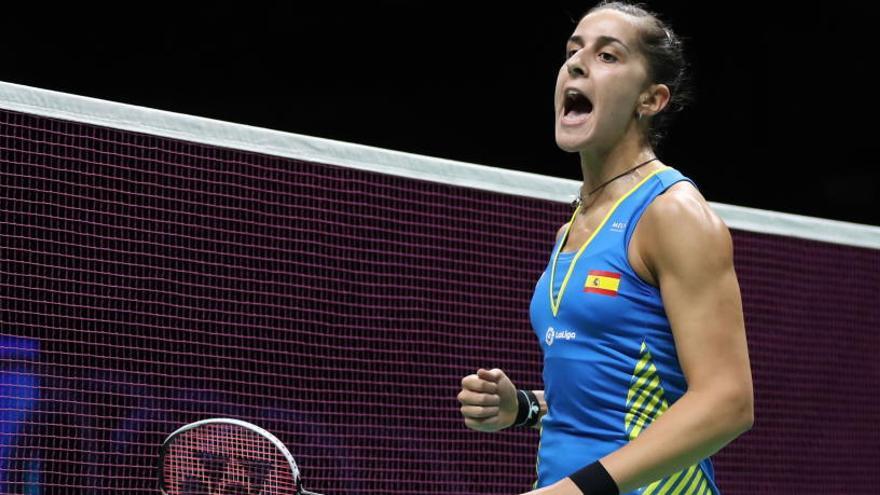 Carolina Marín vuelve a ganar el oro tras su grave lesión