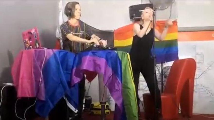 Las castellonenses Frevva estrenan su primer single en la manifestación nacional virtual del Orgullo LGTBI 2020