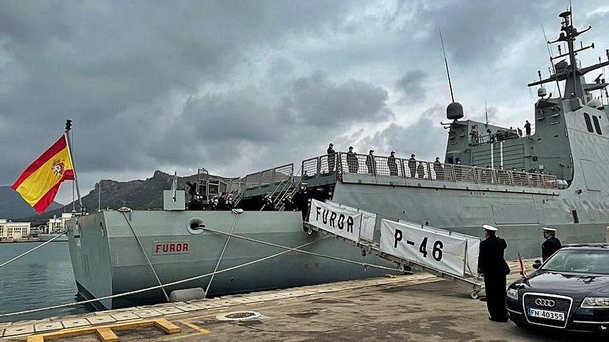 Un buque de la Armada se suma a la lucha contra la piratería en el Golfo de Guinea