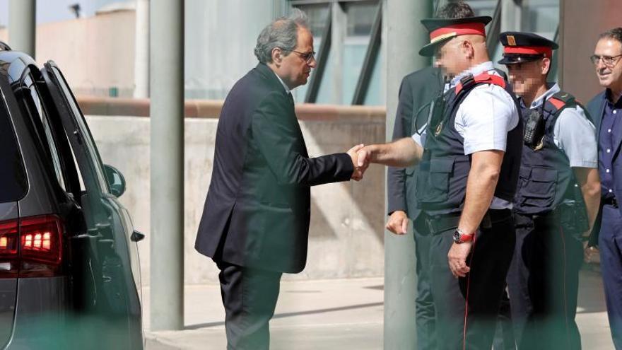 Torra pide a Sánchez que libere a los presos