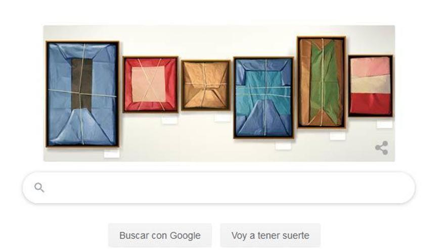Google homenajea con un 'doodle' al pintor Claudio Bravo