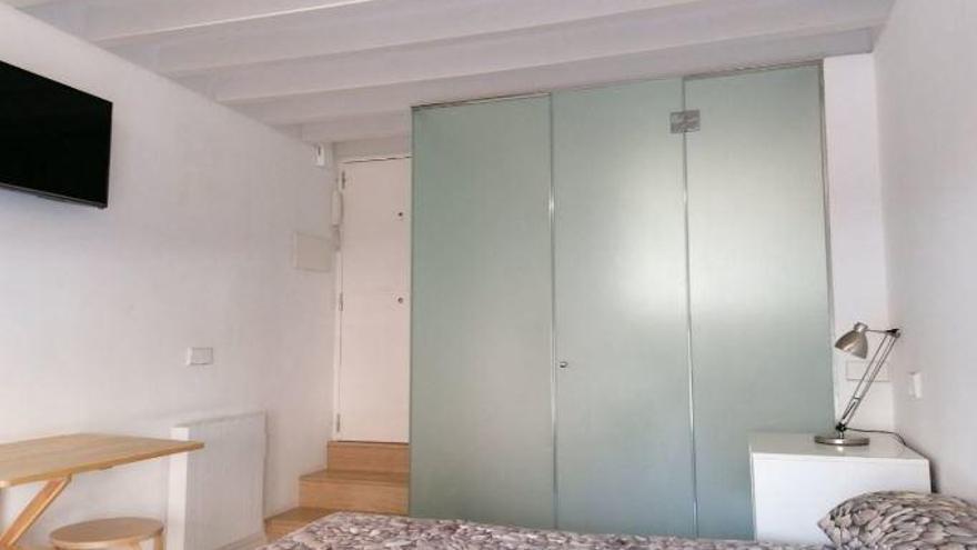 Ofrecen un estudio de 16 metros cuadrados en Palma por 500 euros al mes