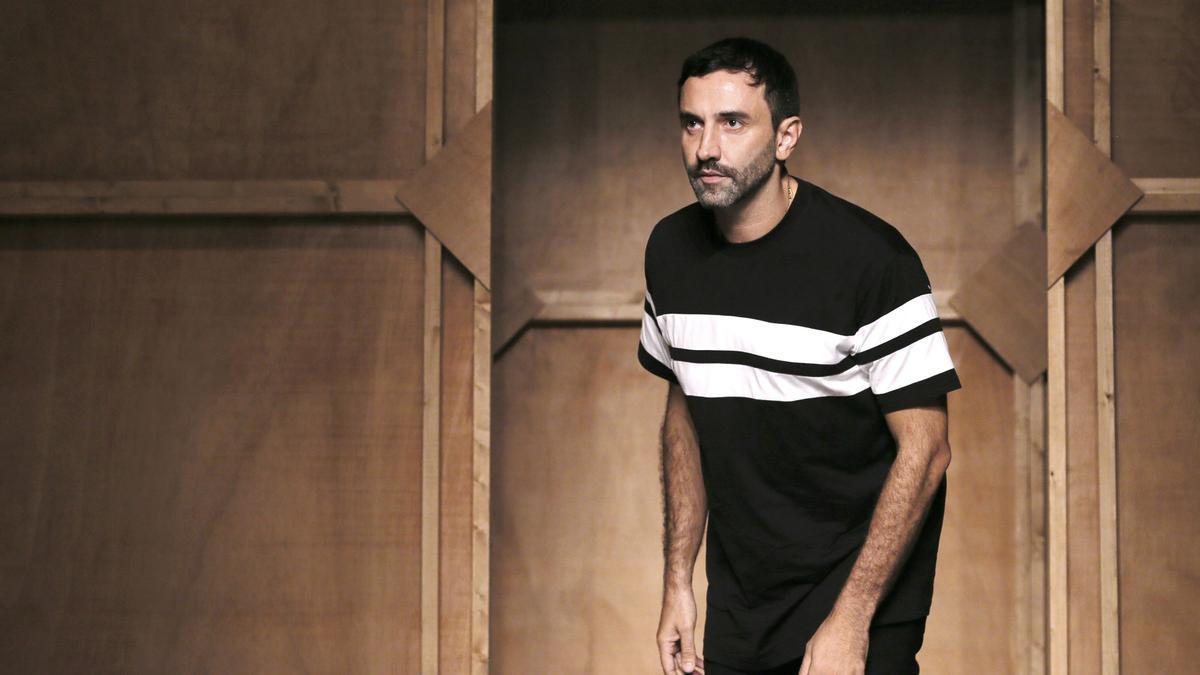 El diseñador italiano Riccardo Tisci.