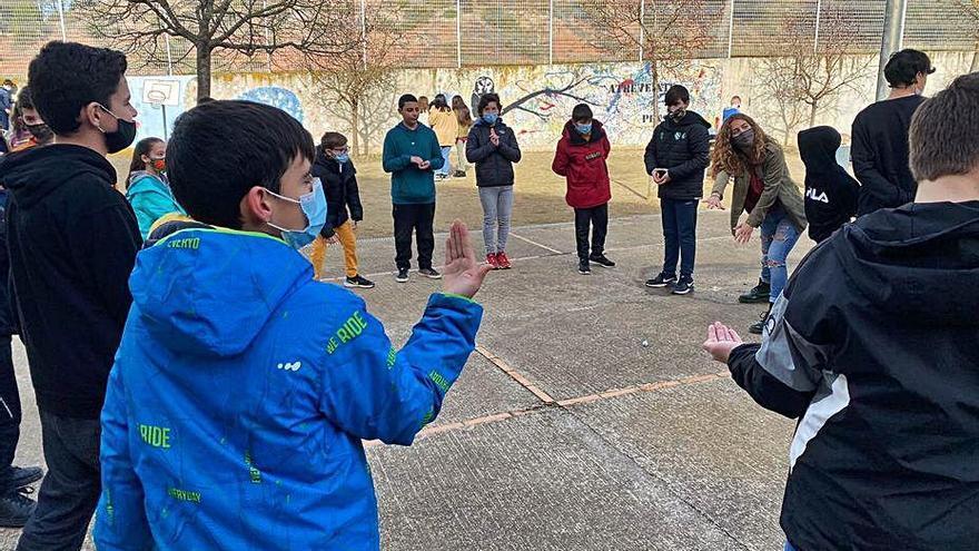 Els jocs de dinamització tornen als instituts de Sant Fruitós