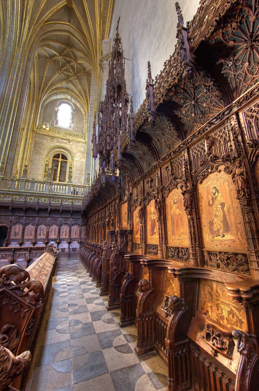 La restauración de la sillería del coro de la catedral de Plasencia