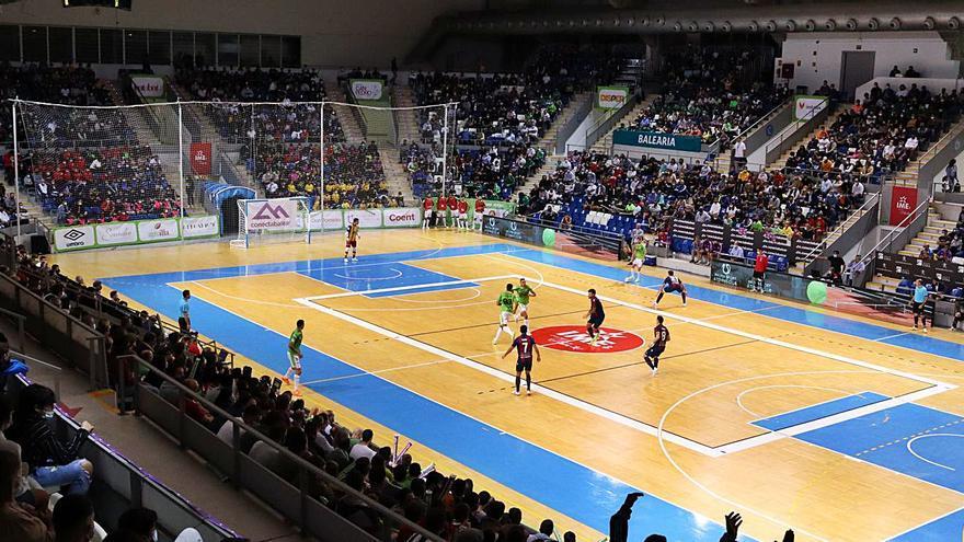 Al Palma Futsal le sobran 50 segundos