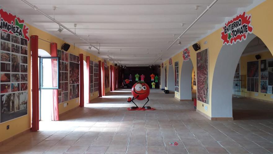 El Museo de la Tomatina de Buñol celebra una jornada de puertas abiertas el 9 d'Octubre