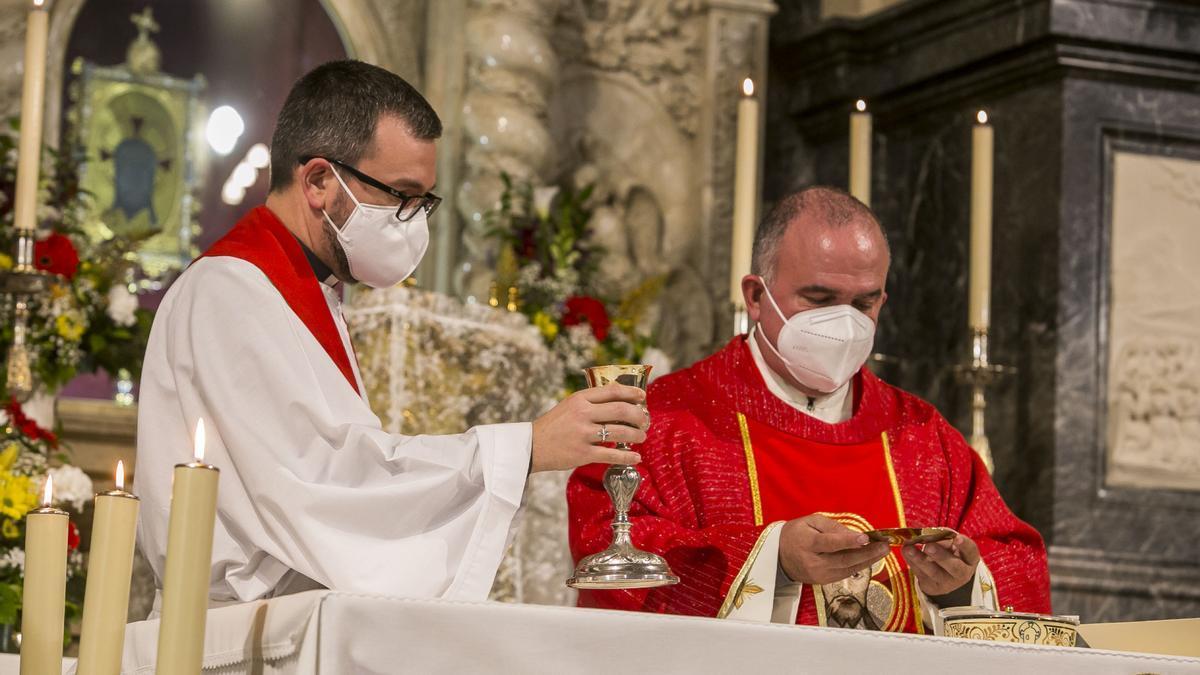 La eucaristía del 15 de abril, día de la Santa Faz, será a puerta cerrada