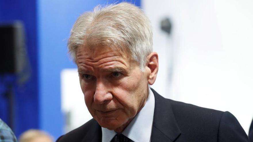"Harrison Ford afea a Trump su ""falta de valentía"" en la cumbre del clima"