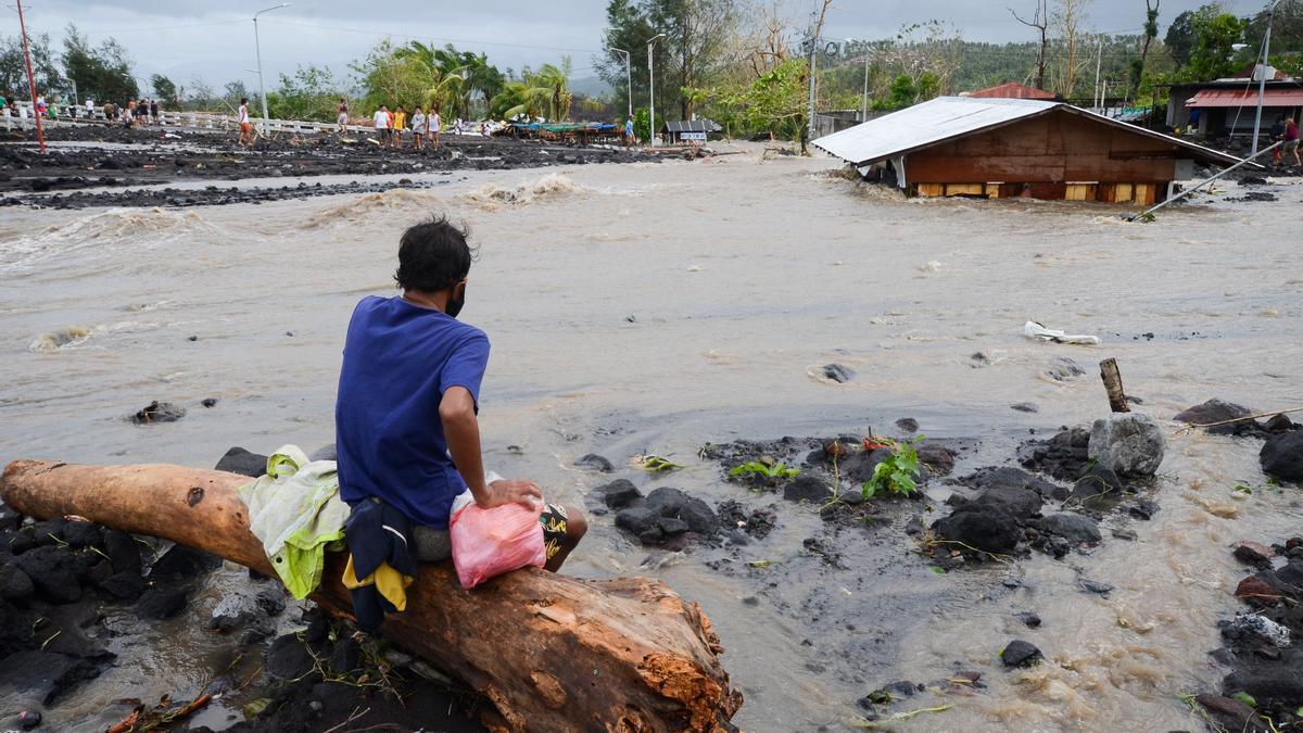 Imagen de archivo de inundaciones en Filipinas.