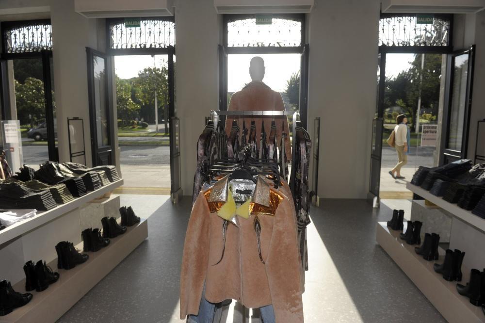 La ''flagship store'' de Zara en A Coruña por dentro