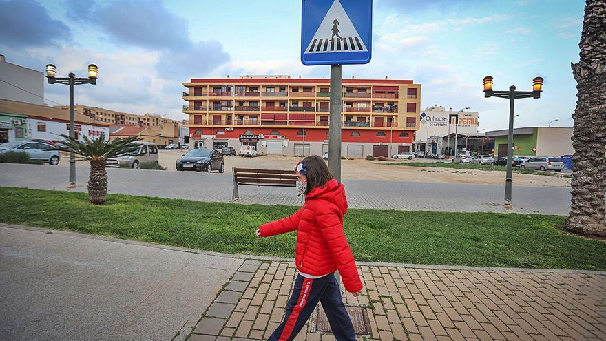 Pasos de peatonas en Albatera