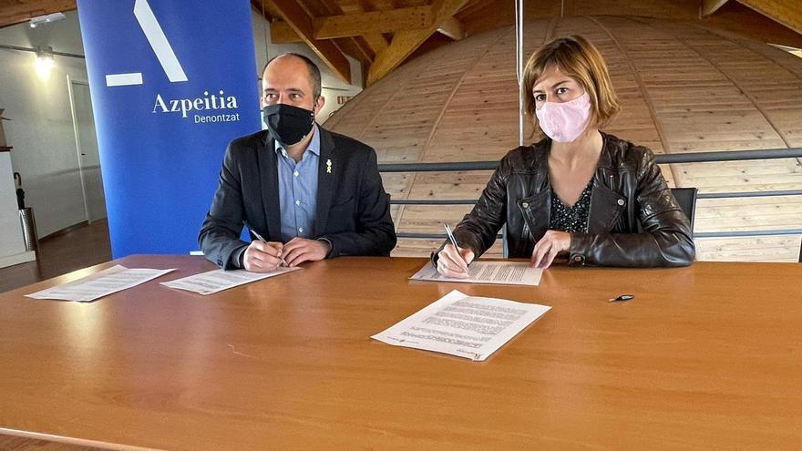 Manresa i Azpeitia firmen un acord per promoure el Camí Ignasià