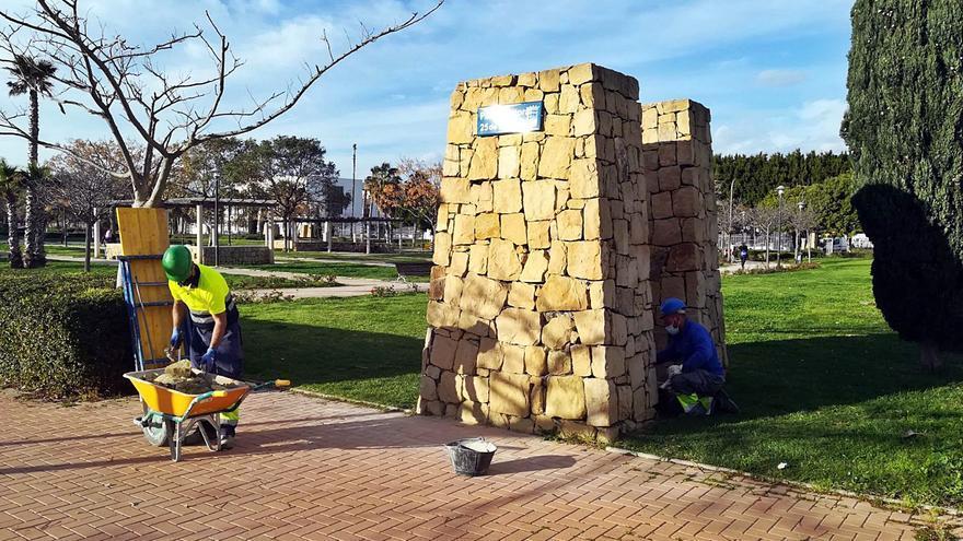 Las puertas del Parque Litoral, por fin seguras