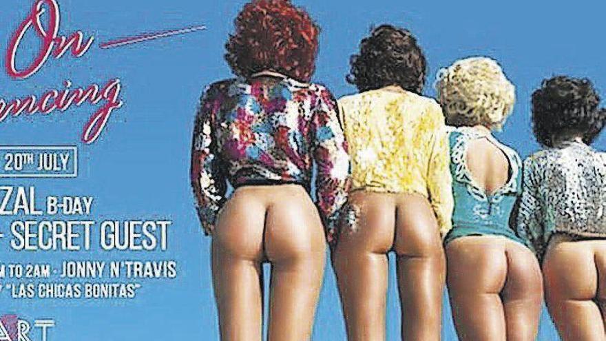 Retiran un cartel del restaurante de Ferran Adrià en Ibiza por sexista