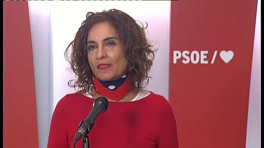 """Montero: """"El PP se ha ido al rincón de la ultraderecha"""""""