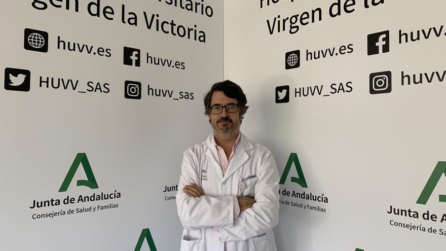 El doctor Carlos Porras asume la jefatura del servicio de Cirugía Cardiaca del Hospital Virgen de la Victoria