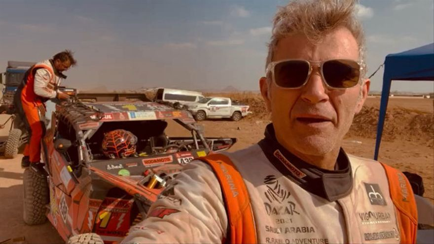 """Ricardo Ramilo: """"Hemos tenido unos piques con algunos ilustres, pero es un placer enfrentarnos a pilotos profesionales"""""""