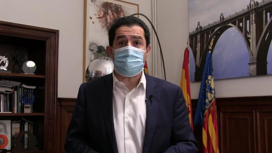 El alcalde de Alcoy pide a la población limitar los contactos sociales para frenar la pandemia