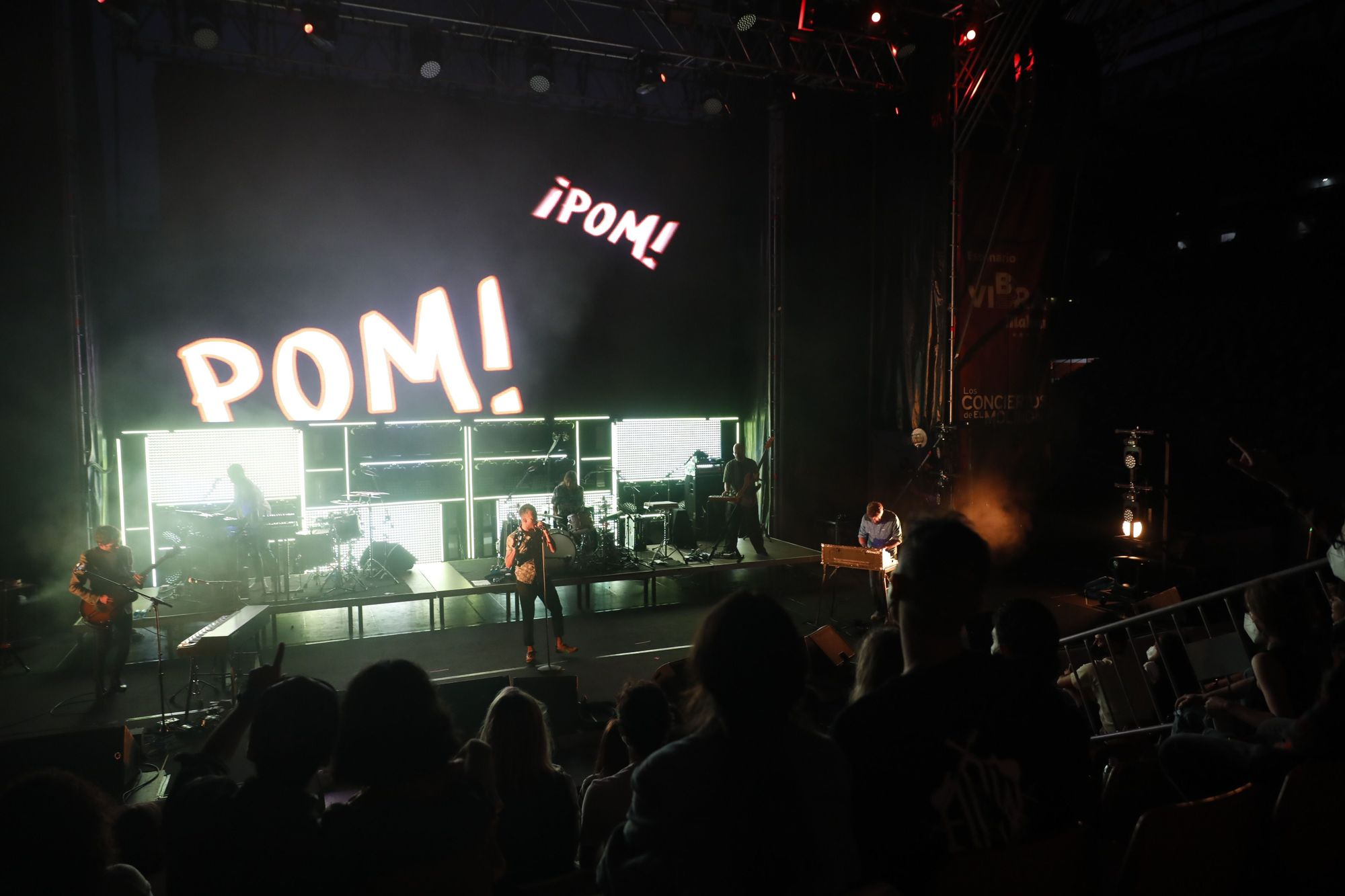"""Concierto de """"Vetusta Morla"""" en Gijón"""