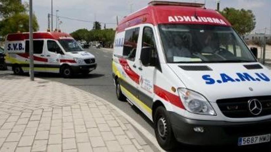 Una ambulància perd un ferit i els seus sanitaris donen positiu en drogues