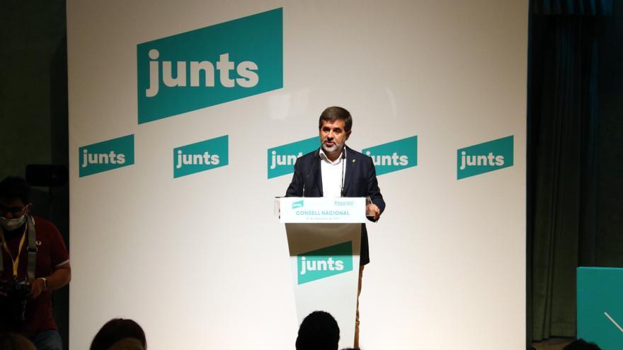 Jordi Sànchez, després de la crisi per la taula de diàleg: «Mai posarem en risc el treball amb el 52% per la independència»