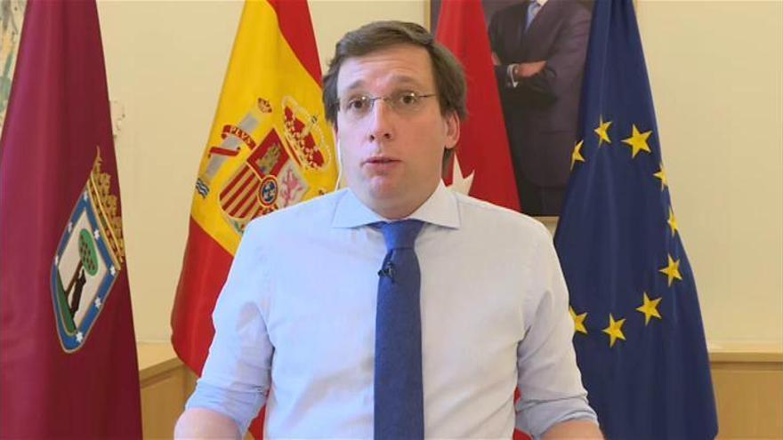 """Almeida vuelve a pedir controles en Barajas y asegura que Madrid """"controla al virus"""""""