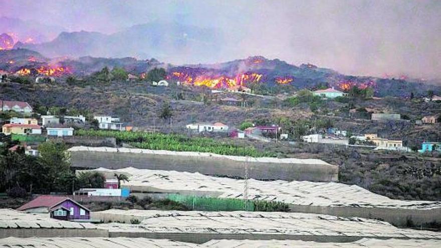El Estado cofinancia la compra urgente de casas y enseres para los afectados por el volcán de La Palma