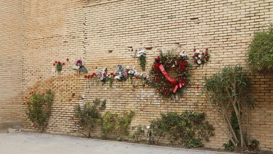 La tapia del cementerio de Torrero será lugar de memoria