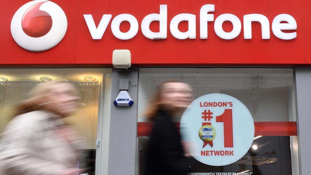 Vodafone facturó 11.101 millones de euros en su primer trimestre.