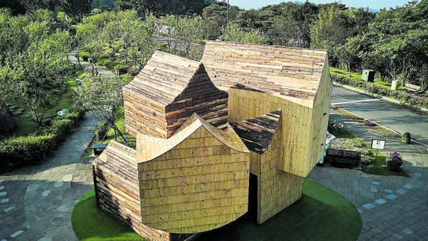 El pabellón 'Boolean Birdhouse'
